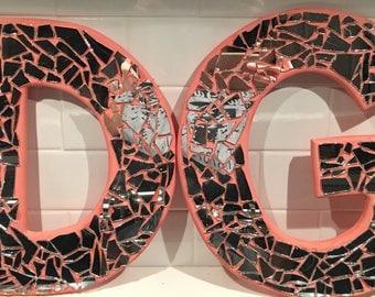 Delta Gamma Glass Letters