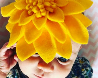 Floral Headbands || Custom || Baby Accessories