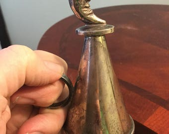 Vintage Man in the Moon Candle Snuffer      1960's