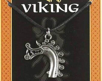 Viking Dragon head pendant
