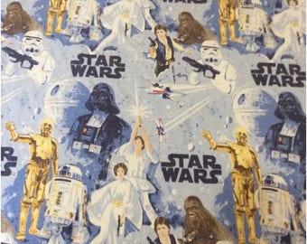 Star Wars Vintage Full Flat Bed Sheets