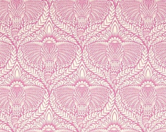 Tula Pink Cotton Woven Fabric 1/2 yd; Eden Deity in Sherbet