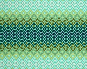Tula pink; Eden Mosaic in Moss; 1/2 yd cotton woven fabric