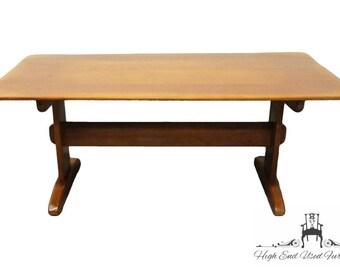 "CUSHMAN COLONIAL 72"" Maple Trestle Table"