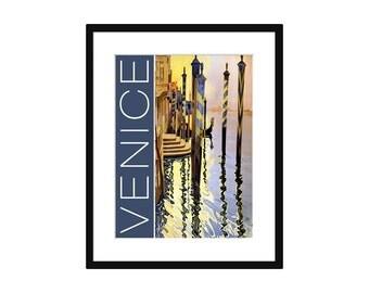 Venice Vintage Travel Poster – Print - Poster