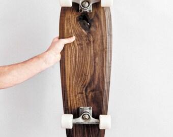 Wooden skateboard Rollholz big cruiser