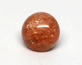 Indian Sunstone Round Cabochon
