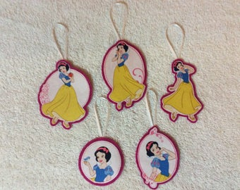 Disney's Snow White Christmas  Ornaments-Set of 5