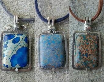 Imperial Jasper Stone  Necklaces