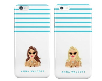 "The ""Mini Me"" Personalized iPhone Case [Personalized Preppy iPhone 6 iPhone 7 case]"