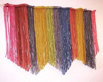 Muted Rainbow Wall Hanging Medium