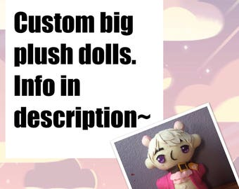 Custom character plushes