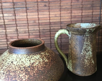 Magnificent Studio Pottery Set By Peter Sabin