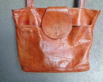 """Canvas shoulderbag  Messenger bag 90's, """"Boho"""" shoulderbag"""