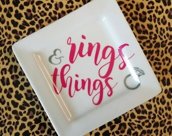 Rings & Things Jewelry Dish