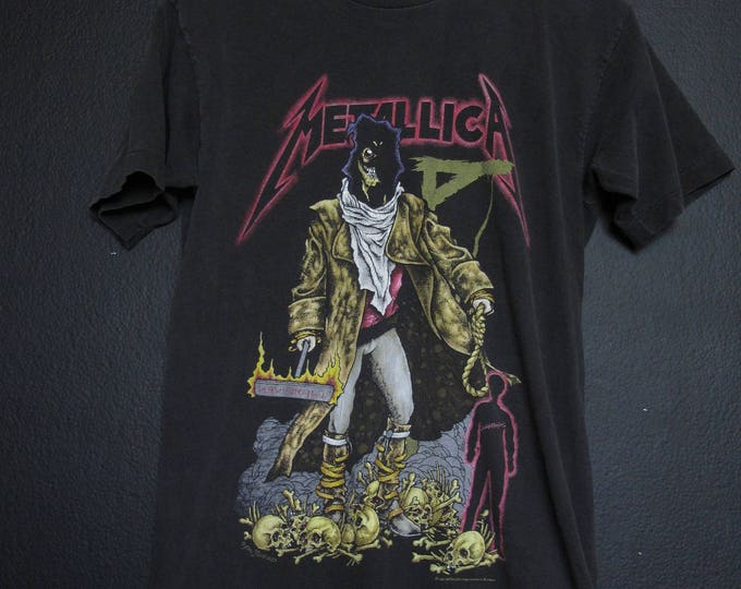 Metallica The Unforgiven 1992 vintage Tshirt