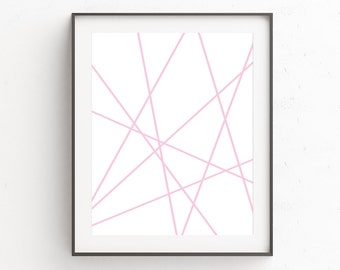 Large Abstract Decor, Abstract Pictures, Pink Wall Art, Pink Wall Art Decor, Printable, Abstract Poster Art, Pink Decor, Digital Download