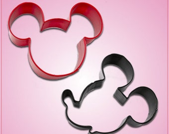 Mickey Mouse Cookie Cutter Set 2