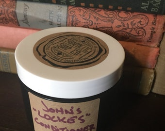 John's Lockes Conditioner + Vinegar Rinse