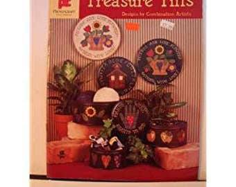 TREASURE TINS by Various/Provo Craft Folk Art Tole Painting