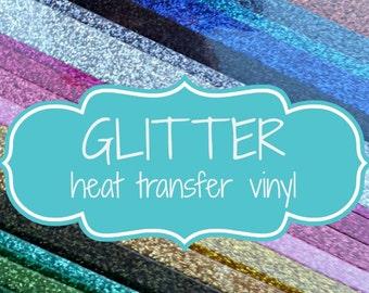 Glitter HTV Sheets HTV rolls - Glitter HTV Sheets - Siser Glitter Sheets - Glitter Heat Transfer Vinyl - Glitter Vinyl - Siser Vinyl