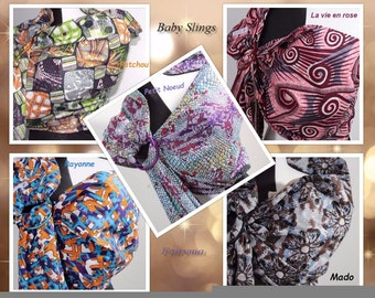 African Baby Sling Baby Wrap