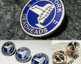 NY Deadheads pin 10 PACK Only