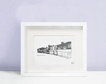 Bucklersbury Hitchin Print