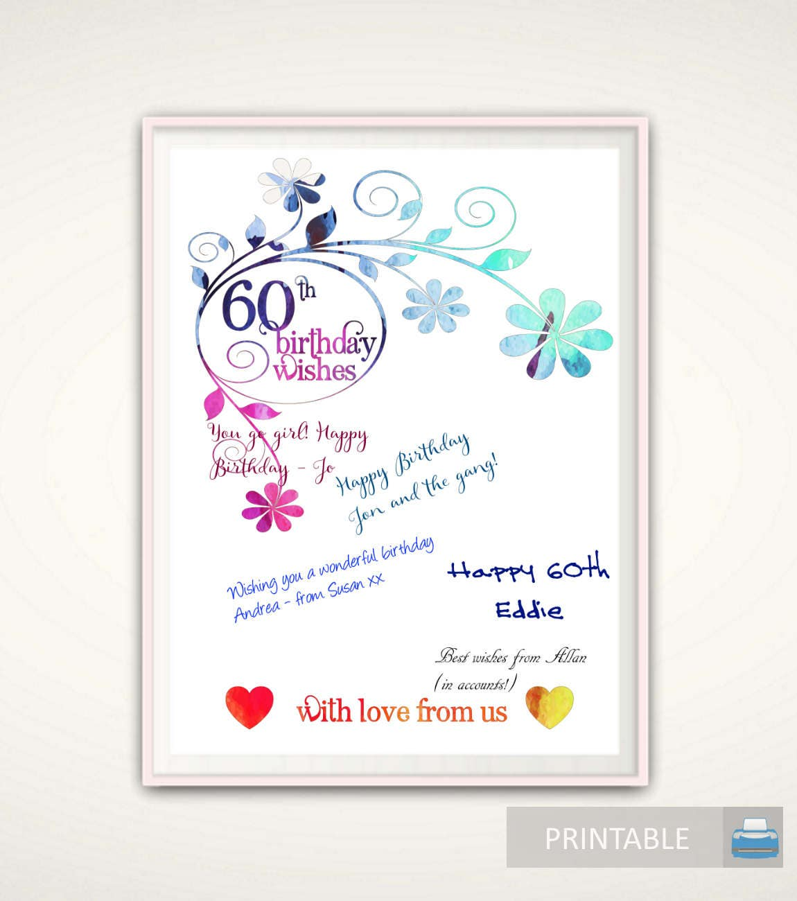 60th Birthday Gifts For Women 60th Birthday For Women 60th