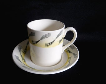 Eric Ravilious GARDEN Coffee Can and Saucer - Wedgwood