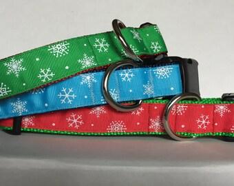 Glitter Snowflake Collar