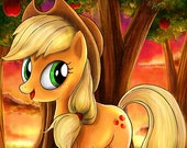 Applejack My Little Pony Glossy Poster - Free USA Shipping