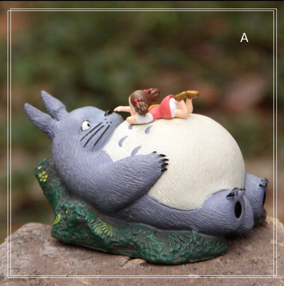 Mei Lying On Totoro Figurine Home Decor Ornaments Fairy Garden Accessories  Miniature Fairies Bedroom Display Succulent Terrarium Supplier From  GfanStudio On ...