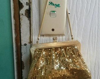 Vintage Gold Mesh/Park Lane Evening Bag