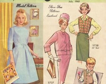 Australian Home Journal Magazine July 1961