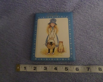 Holly Hobbie book Days To Remember Dates Months Birthday party American Greetings never used blue gold girl