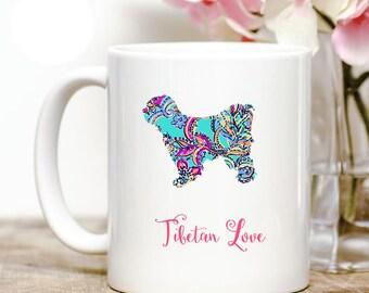 Tibetan Terrier Love Coffee Mug