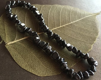 Hematite Anklet, Hematite Ankle Bracelet