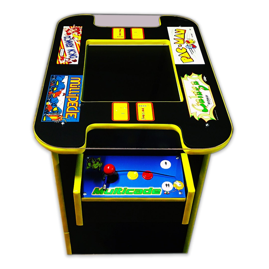 Cocktail Arcade Cabinet Kit Arcade Machine Etsy