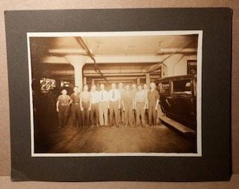 c1920 mechanics garage cabinet photo