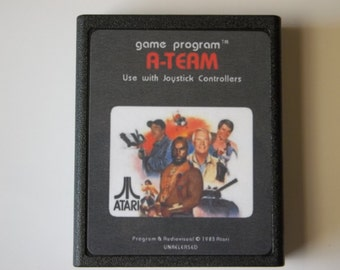 Atari 2600 THE A-TEAM Video Game Cartridge Unreleased < Free Shipping >