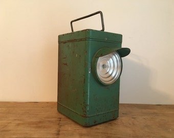 French Vintage Portable Lantern / Torch