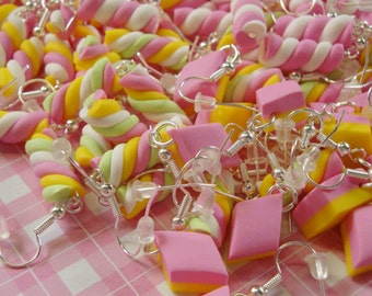 50 Pairs of Marshmallow Earrings