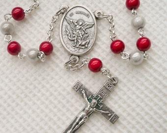 Cro Car Rosary St Michael the Archangel