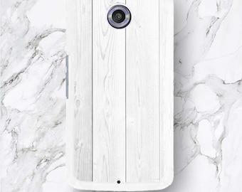 Google Pixel White Wood Phone Case, Timeless Wooden Elegant Pattern, HTC Pixel XL, White Wood Google Nexus 6 5 4 Cover