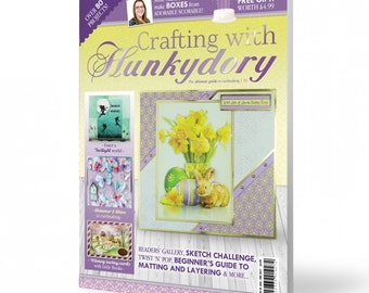 Crafting with Hunkydory Magazine Issue 33
