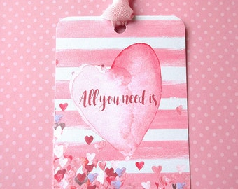 Tags, Gift Tags, Valentine Tags, Party Supplies, Holiday Tags, Paper Tags