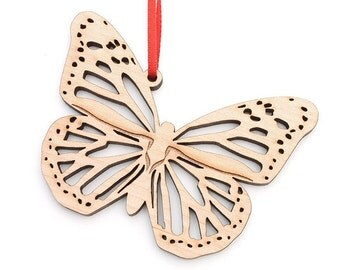 Monarch Butterfly Christmas Ornament by Nestled Pines - Butterfly and Insect Christmas Collection
