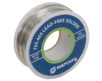 Lead Free Solder 0.6mm DIA 100g 65.0M Reel