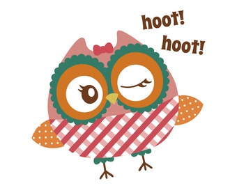 Adorable Owl - svg file